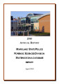 2010 Annual Report Maryland State Police Forensic Sciences Division Statewide DNA Database Report